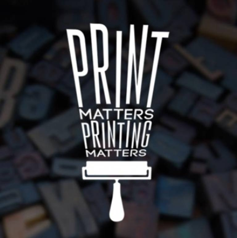 A graphic that says Print Matters. Printing Matters.